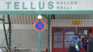 Tellushallen i Jakobstad