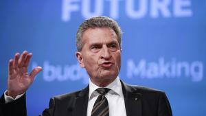 EU-kommissionär Günther Oettinger