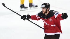 Tyler Seguin var med och vann VM-guld för Kanada 2015.