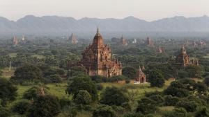 Bagan i Burma.