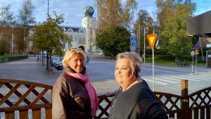 Tiina Gäddnäs och Virve Tiala.