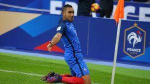 Frankrike vann över Sverige med 2-1.