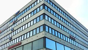I Hagnäs har många fackförbund sin hemvist