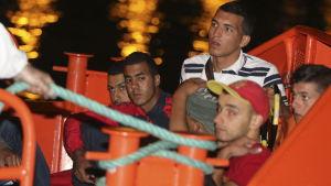 båtflyktingar från Maghreb