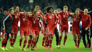 Bayern München, efter säkrat mästerskap, mars 2014