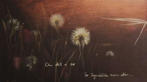 AUgusti, målning av Susanne Remahl & Fredrik Furu
