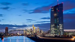 ECB:s byggnad i Frankfurt