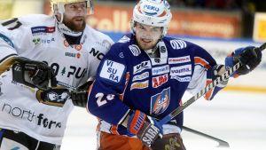 Marko Kauppinen i Tappara i match mot Kärpät.
