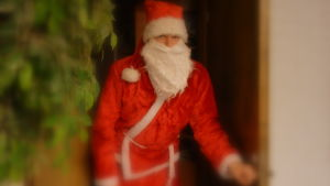 Jultomten besökte Yle Österbotten.