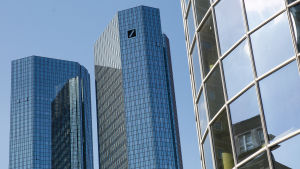 Deutsche Banks huvudkontor i Frankfurt am Main