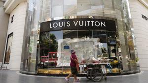 Louis Vuitton i Bangkok.