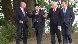 Utrikesministermöte om Ukraina i Berlin.