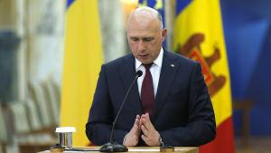Moldaviens premiärminister Pavel Filip 26.1.2016