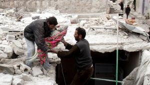 Striden om IS-kontrollerade al-Bab lär ha krävt många civila offer, men exakt hur många är oklart