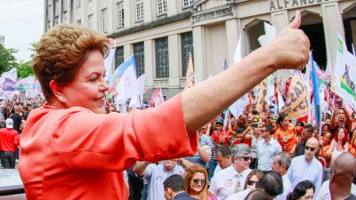Rousseff segrar med 56 procent