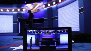 Den första tv-debatten mellan Clinton och Trump hålls på Hofstra University i delstaten New York.