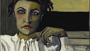 Porträtt på kvinna. Alice Neel: Elenka (1936).