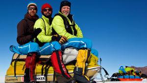 Retkikunta Timo, Pekka ja Pata Etelämantereella 2013