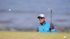 Henrik Stenson i täten vid US Open i golf.
