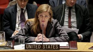 Samantha Power, USA:s FN-representant