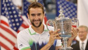 Marin Cilic vinnare av US Open.
