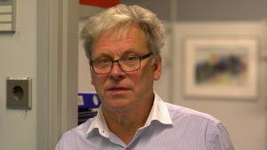 Stefan Granqvist är utbildningsansvarig för två av linjerna vid Optima i Vasa.