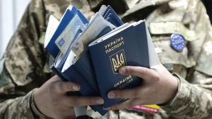 Visumfriheten med EU trädde i kraft i Ukraina 11.6.2017