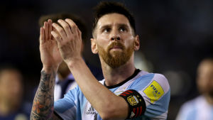 Spelförbud för Leo Messi.