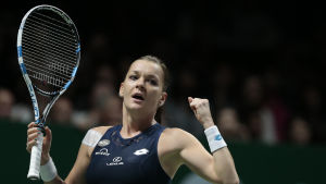 Agnieszka Radwanska till final i Singapore.