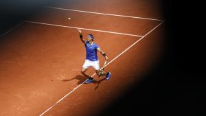 Rafael Nadal vidare i Paris.