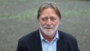 Allan Andersson, programansvarig för byggnadsteknik på Novia i Vasa.