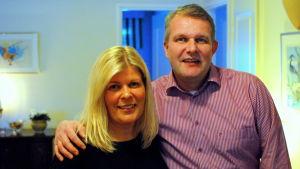 Syskonen Patricia och Niclas Häggblom