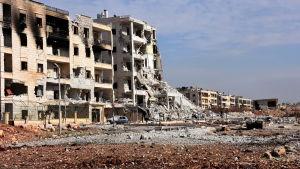 Syriska regeringsstyrkor har ryckt fram i östra Aleppo under den senaste veckan intagit flera rebellkontrollerade distrikt