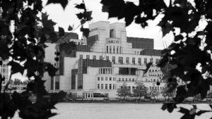 Vauxhall Cross i London, högkvarter för underrättelsetjänsten MI6.