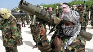 al-Qaida-krigare i Somalia