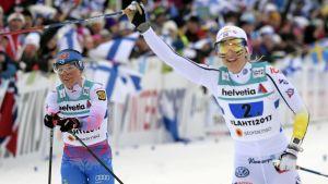 Krista Pärmäkoski, Stina Nilsson.