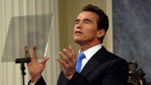 Kaliforniens guvernör Arnold Schwarzenegger