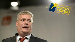 Socialdemokraternas ordförande Antti Rinne