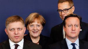 EU:s toppmöte december 2014.