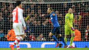 Dimitar Berbatov firar ett mål för Monaco.