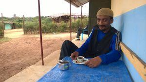 Den politiska flyktingen Abdi från Etiopien