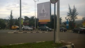 Reklam för folkmordsminnesveckan i Rwanda