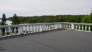 Altanen på Söderlångvik gård.
