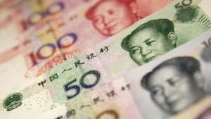 Kinesiska yuan.