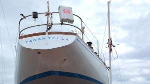 Den första Swan-båten någonsin.