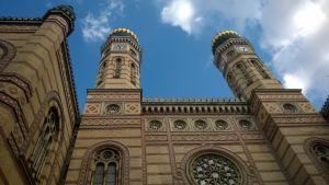 Dohány gatans synagoga i Budapest är störst i europa.