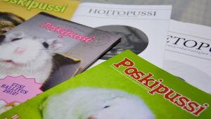 Finlands hamsterförbund ger ut tidningen Poskipussi.