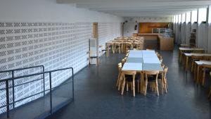 Studentkårens café i Åbohanken.