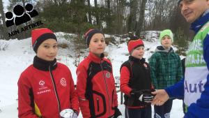 Tävlare som har deltagit i Österbyloppet i Ekenäs i Raseborg