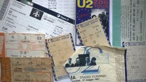 U2-biljetter.